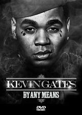 "Kevin Gates DVD- ""By Any Means""-  DVD .. 30+ Videos.. HOT!!"