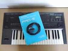 Vintage Roland Clavier EXPANDER RA realtime arranger PRO E MIDI E-20 E-70 PRO