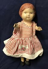 New listing ~* Antique Hand Painted Paper Mache Doll *~