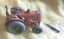 Dinky 301 Field Marshall II tractor with green wheels