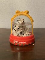 Vintage Disney 101 Dalmations Snow Dome Globe McDonalds 1996