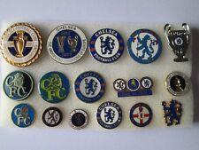 j3 lotto 16 pins lot CHELSEA FC club spilla football calcio badge spille