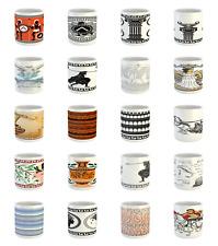 Ambesonne Retro Color Ceramic Coffee Mug Cup for Water Tea Drinks, 11 oz
