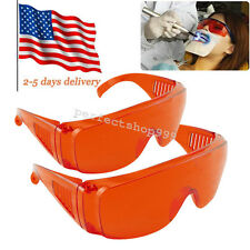 2X Dental Curing Goggle Glasses Protective Eye LED/UV Lamp Ultra Violet rays red