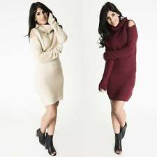 Long Sleeve Casual Jumper Dresses for Women