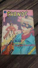 """1969 MEXICAN COMIC CHANOC #525 """"LA VENGANZA DEL LLAVERO SOLITARIO"""" PARODY"""