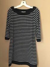 WHITE HOUSE | BLACK MARKET Black/White Striped Dress