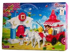 BanBao 6107 MARIAGE CARROSSE Blocs de construction Set incl. 2 personnages + Cloche