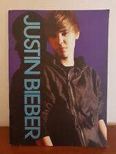 Justin Bieber Never Say Never My World Tour Program Concert Souvenir Book New