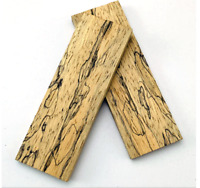 Wood pieces Maple Stabilized Wood Knife Handle Blanks Scales 2 PIECES DIY Making