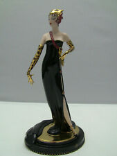 Franklin Mint House of Erte Figurine Untamed Beauty Limited Edition - Excellent