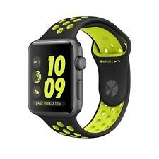 Apple Watch Series 2 Nike+ 38mm Space Grey Case Black & Green Sport Band