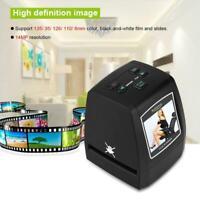 Professional 14MP 35/135mm Negative Film Slide Viewer Scanner LCD Photo Copier