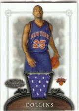 MARDY COLLINS JERSEY RC 2006-07 BOWMAN STERLING 61 NEW YORK KNICKS TEMPLE OWLS