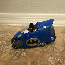 2007 Mattel Shake N Go  Batman Motorcycle Vehicle Toy  DC Comics