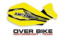 Cover Plastica Ricambio Paramani Ufo Clow Giallo Motard Cross Pit Bike Quad