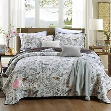 Bedding Set Summer Air-conditioning Quilt Three-piece Cotton Quilt Bed Cover