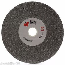 "5"" inch Grit 80 Coarse Diamond Coated Flat Lap Disk Grinding Wheel Angle Grinder"