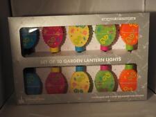 Disney Alice in Wonderland Garden Lanten Light String / New in Box