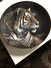The Hamilton Collection Siberian Tiger By Martiena Richter Plate