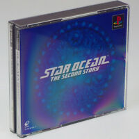 STAR OCEAN Second Story 2 PS1 Sony Japan Import PlayStation PSX NTSC-J ENIX RARE