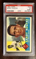 1960 Topps Sandy Koufax Card #343 PSA EX 5 (MK)