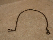 "#2 ANTIQUE POCKET WATCH CHAIN FOB GOLD FILLED GF 13 1/4"" LONG"