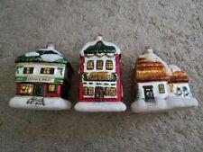 "Department 56 "" A Christmas Carol - Mercury "" 3 Ornament Set In Box"
