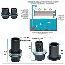 Passe-Parois de 25 mm - Pour aquaponie