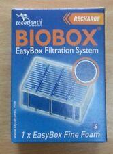 Lot de 2 recharges BIOBOX Easybox Filtration System mailles fines S