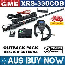 GME XRS-330COB OUTBACK PACK XRS 330C UHF CB RADIO AE4707B BLACK ANTENNA TWO WAY