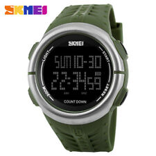 SKMEI Men Military Outdoor Sports Watch Waterproof Boys LED Digital Wristwatch