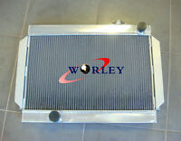 3 CORE 56mm ALLOY ALUMINUM RADIATOR FOR holden Torona V8 universal Manual MT
