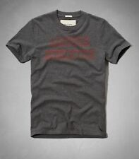 NWT Men Tshirt Abercrombie & Fitch style# 6122210586  gray XL