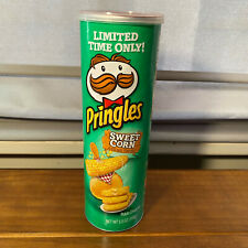 2 Cans Pringles Sweet Corn Potato Chips 5.5 Oz Each Limited Edition
