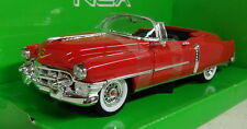 Nex models 1/24 Scale 22414W 1953 Cadillac Eldorado Red Diecast model car