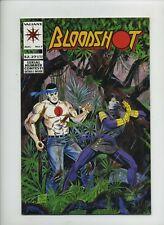1¢ AUCTION Bloodshot #7 (Valiant 1993) First Full Ninjak Appearance (8.5 VF+)