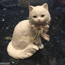"Lenox ""Sitting Pretty"" Cat Figurine Retired"