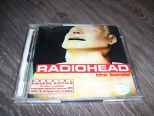 Radiohead - the bends RARE PINKPOP Holland EDITION 2 CD 1996 with sticker *