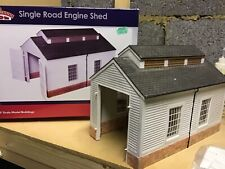 More details for bachmann scenecraft  single road engine shed 47-009 (0) railway model