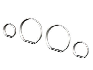 Cluster Dashboard Dial Gauge Rings Silver For BMW 3 Seires E46 M3 ZHP 98-05