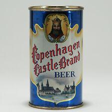 Copenhagen Castle Brand Beer Flat Top Can Edelbrew Brewery Brooklyn 51-27 -RARE-