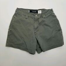 Levi Women Shorts Silver Tab Green Loose Size 5 Green
