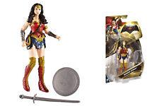"""Wonder Woman Action Figure Original """"Batman V Superman"""" 15cm - By mattel"""