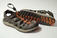 Merrell Men's 8 Brown Orange Outdoor Close Toe Hiking Sandals