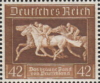 Stamp Germany Mi 621 Sc B90 1936 WW2 1936 War Reich Munich Riem Horse Race MNH