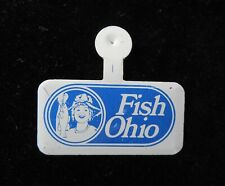 FISH OHIO  Medal Lapel Clip Pin