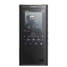 SONY Walkman ZX Series 64GB NW-ZX300: Bluetooth / microSD Black NW-ZX300 B
