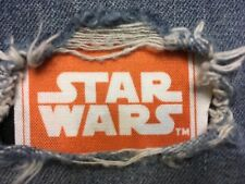 "Set of 2 Star Wars 4"" x 4"" Iron on Peek-A-Boo Jean Patches"