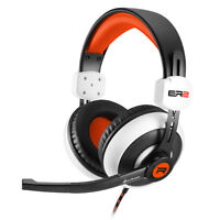 Sharkoon * RUSH ER2 * WEISS * satter Sound * farbenfrohes Design Stereo-Headset